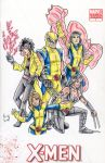 Wolvie and the Girls by IsaiahBroussard
