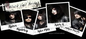Black Veil Brides Polaroid by SlicedBerry-Pro