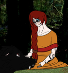 The Red Head and the Big Bad Wolf by WiltingDaisy