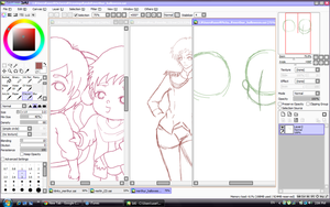 Multiple WIPs by aleen-chan