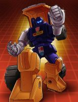 Huffer by REX-203 by Robot-Japan