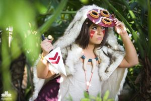 2015 - Orlando Anime Day | Princess Mononoke San by elysiagriffin
