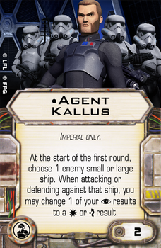 Agent Kallus by Lochs-Uncommon-Cards