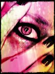 eye see pink by VenomKissesX