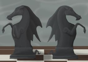 MLP Chess Set: Wendigoes by EnigmaticElocution