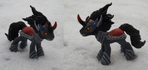 King Sombra Sculpture by DragonAtaxia