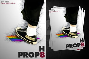 Prop 8 is Hate by TheAL