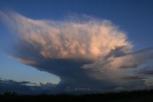 huge cloud by PageNotFound