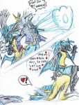 Playful Lucario by JohnSergal