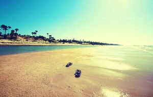 slopeng beach by groovemage