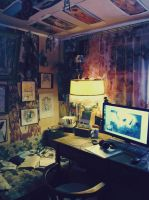 My workplace by RADIVILOVSKAY