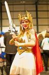 MCM Scotland Cosplay: She-ra. by mnmk