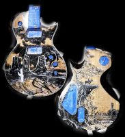 Custom Guitar 2 Front and Back by greyfoxdie85