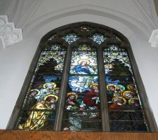 Denver Cathedral Window 25 by Falln-Stock