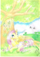 My Little Angel by Winged-Dragoness