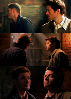 Destiel 9x10 [4/5] by mistofstars