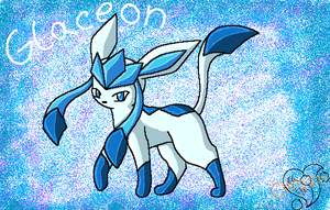 Shiney Glaceon new by TwilightTheEevee