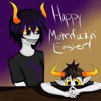 Happy Motherfuckin Easter by XxEatenByChildrenxX