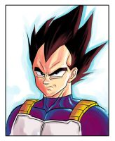 Vegeta by dreamwatcher7