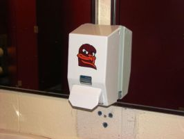 There's a Hokie in the potty by acidbathory