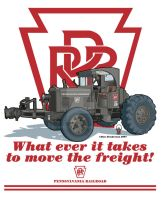 PRR Tractor by yankeedog