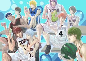 The Basketball Which Kuroko Plays by GENgoodstick
