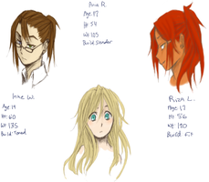 Corpse Party Character Refs~ by LovedSpirited