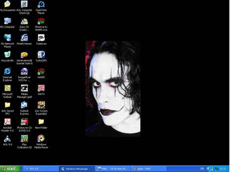 Brandon Lee by SpikedCandy
