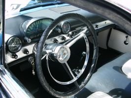 1956 Ford Thunderbird Control Center by RoadTripDog