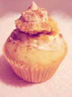 Vegan Tiramisu Cupcake by miss-octopie