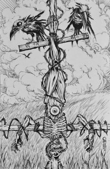 12 The Hanged Man by JayOntiveros