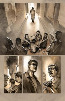 new komiks project - preview page by jbcasacop