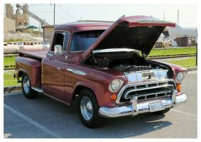 A 1957 Chevy 3100 Truck by TheMan268