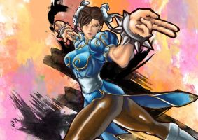 Just Another Chun-li by FreedomIsNow