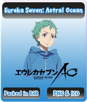Eureka Seven: Astral Ocean - Anime Icon by Rizmannf