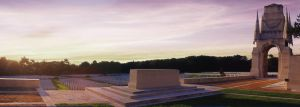 Cemetery at Sunset by Danwhitedesigns