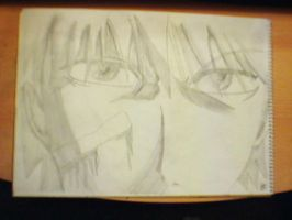 Ichigo in pencil by Duero