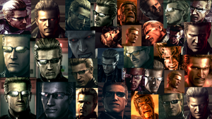 Many Faces of Albert Wesker by RedDevil00