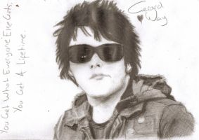 Gerard Way, Bullets and Love by MonsterIsLovely