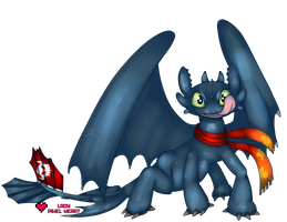 Toothless Wallpaper Graphic Commission by ladypixelheart