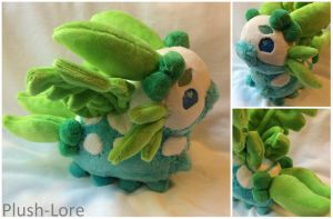 Pacapillar Plush Commission by Plush-Lore