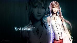 Serah FFXIII Wallpaper by demeters