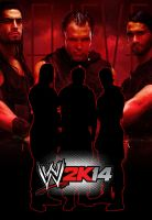 Shield WWE 2k14 Cover by Galixa