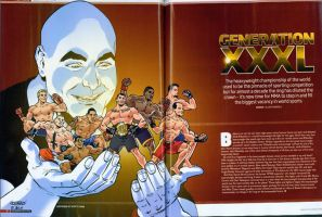 Fighters Only Heavyweight spread by ScottCohn