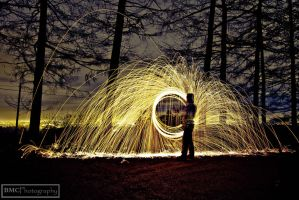 Steel Wool 1 by BMC-Photography
