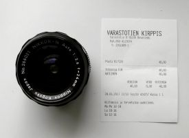 Nikkor-N 24mm f2.8 by wchild