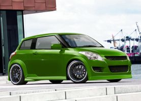 Suzuki Swift by WSWhiteStripe