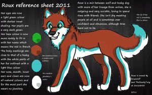 Roux reference sheet by RouxWolf