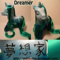 Dreamer Kanji Pony by AnimeAmy