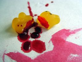 Gummy Bear.. Murder? by Schectera